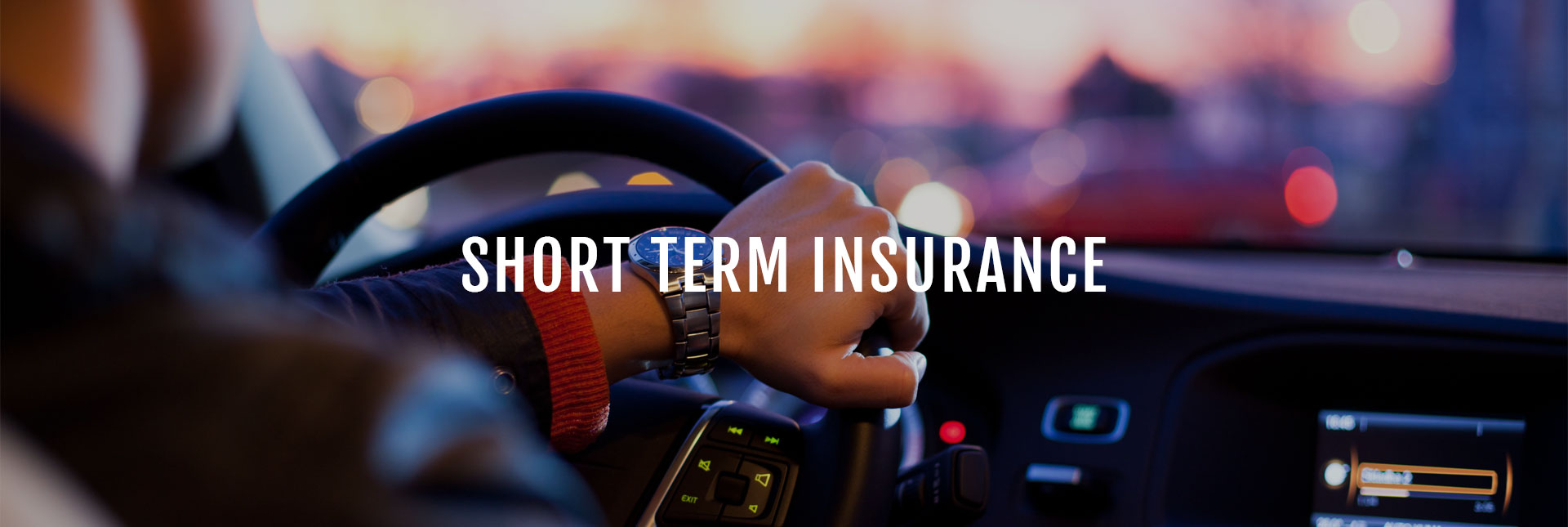 Short Term Plan : Individual insurance tailored packages